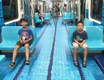 Taiwanul îşi surprinde călătorii prin transformarea metroului într-un loc cu tematică sportivă