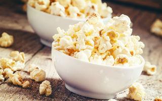 Cum să faci popcorn cu unt
