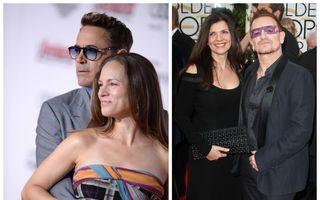 5 bărbaţi celebri care-şi adoră soţiile