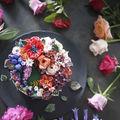 Sunt prea frumoase ca să le mănânci! Un cofetar creează torturi care imită perfect florile