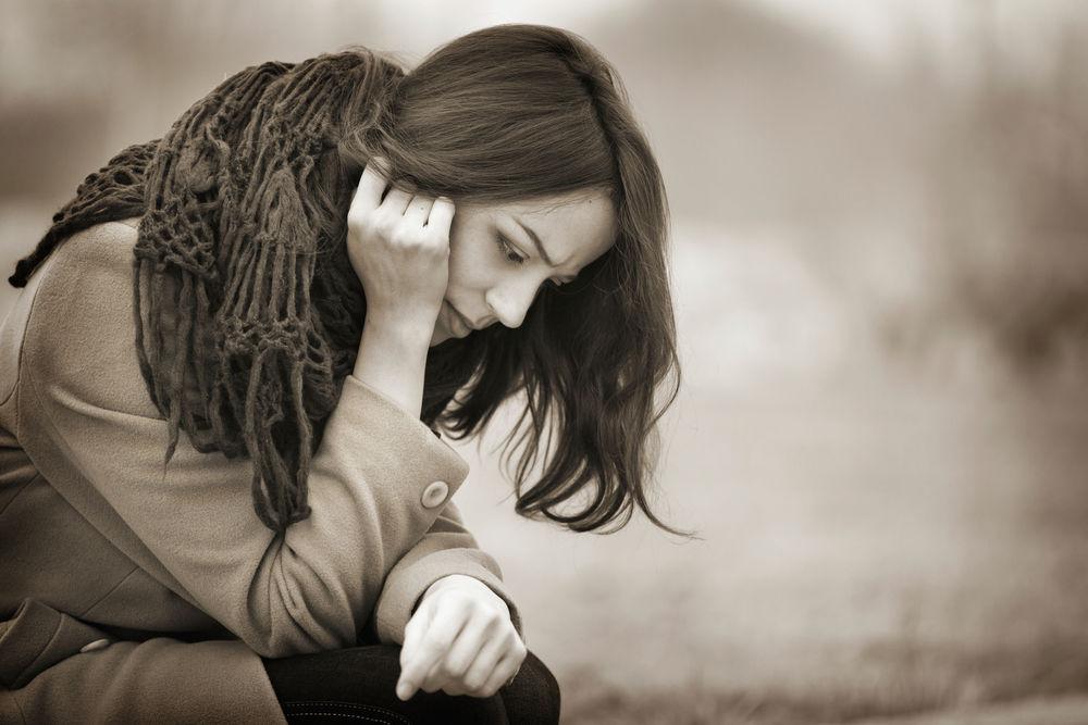Fată tristă