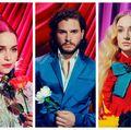 Actorii din Game of Thrones într-o şedinţă foto psihedelică. Nu i-ai mai văzut aşa!