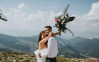 Dovada că se poate face o nuntă perfectă fără fotograf. Pozele lor sunt superbe!