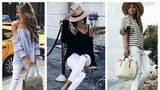 Cum să porţi blugii albi? 20 de outfituri care te pot inspira