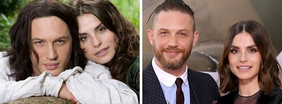 Tom Hardy şi Charlotte Riley — Wuthering Heights