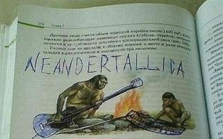 Cum se distrează elevii când se plictisesc: Cele mai amuzante desene din manuale