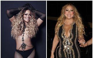 """Mariah Carey, acuzată că îşi modifică pozele ca să arate mai slabă: """"Acceptă realitatea sau du-te la sală!"""""""