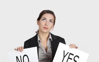 """Cum să refuzi atunci când te simți obligat să spui """"Da"""""""