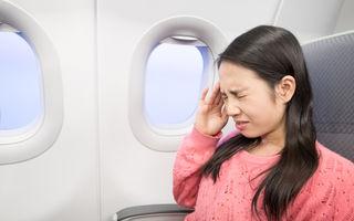 De ce ți se înfundă urechile în avion?