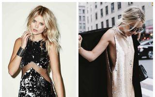 Cum să accesorizezi o rochie cu paiete. 4 reguli