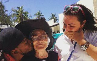 Bunicuţa de 89 de ani, vedetă pe Instagram: Vrea să vadă toată lumea