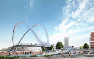 Cele mai frumoase propuneri pentru un pod pietonal planificat în Londra