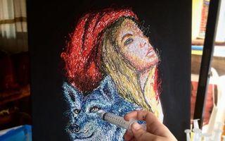 Ce poţi să faci cu o seringă şi vopsea dacă ai talent? Cele mai originale tablouri