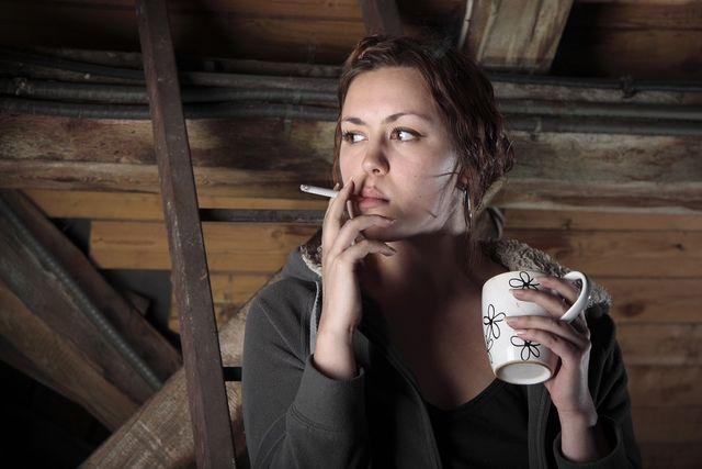 cafea fumat