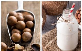 Cum să faci lapte din nuci macadamia