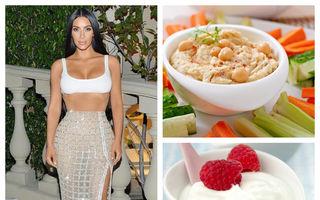 Dieta Kim Kardashian. Ce mănâncă vedeta într-o zi?
