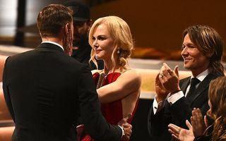 Scenă ireală: Nicole Kidman şi-a sărutat iubitul din film de faţă cu soţul