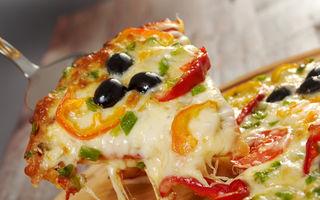 Aluat de pizza pufos cu drojdie. Rețetă italiană