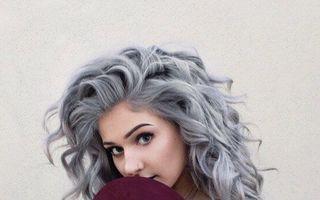 Părul în nuanțe gri, trendul vedetă al acestui sezon