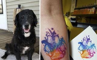 Cele mai reușite 15 tatuaje pentru iubitorii de câini