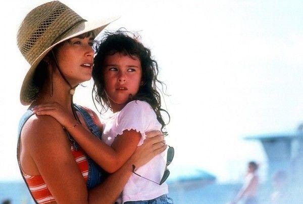 Demi Moore şi fiica sa