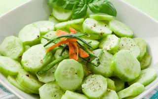 Ce se întâmplă dacă mănânci salată de castraveți cu usturoi