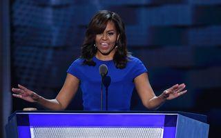 Michelle Obama are un mesaj pentru femeile care l-au votat pe Trump