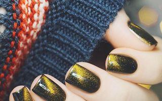 Idei de manichiuri pentru iarnă. 60 de imagini din care te poţi inspira