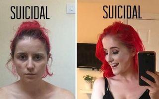 """Mesajul tuburător al unei mame: """"Depresia nu arată într-un fel anume"""""""