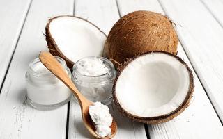 Studiu. Uleiul de cocos este la fel de nesănătos ca untura și untul