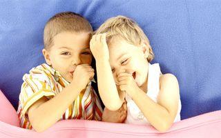 Râsul unui copil, semnul care trădează un viitor psihopat