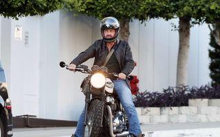 Gerard Butler, spitalizat de urgenţă după un accident de motocicletă