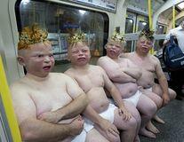 Ciudăţenii la metrou: Întâlniri de gradul zero în marile oraşe