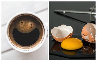 Știai că poți să pui ou crud în cafea? Rezultatul este incredibil