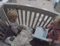Bebeluşii specializaţi în evadări. 6 filmuleţe super amuzante