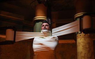 Răzvan Fodor, la un pas de mumificare într-o probă din Fort Boyard!
