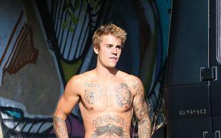Justin Bieber şi-a acoperit 70% din corp cu tatuaje