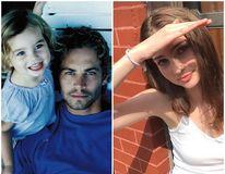 În numele tatălui: Fiica lui Paul Walker îngroapă securea războiului
