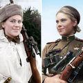 Rusoaicele-lunetist care i-au terorizat pe nazişti: Îi secerau pe nemţi ca pe grâne