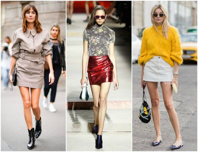 Cum să porți cu stil fusta mini. 10 idei