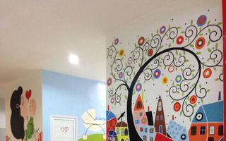 Cea mai frumoasă toaletă dintr-un mall, decorată pentru copii