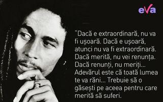 25 dintre cele mai importante citate ale lui Bob Marley despre viață