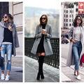 Cum să porţi paltonul gri? 20 de outfituri cool