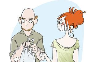 """20 de ilustraţii amuzante care arată cum e """"meseria"""" de mămică"""