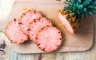Ananasul roz: ce diferă față de ananasul normal