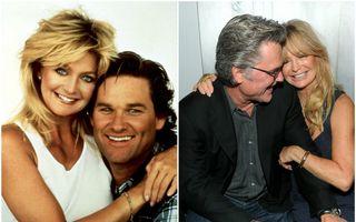 Cea mai frumoasă poveste de dragoste de la Hollywood: Kurt Russell și Goldie Hawn, împreună de 34 de ani