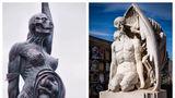 De prin lume adunate: 5 sculpturi înfricoșătoare care-ți dau fiori