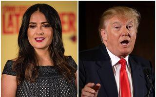 Cum a încercat Trump să o convingă pe Salma Hayek să-şi înşele iubitul