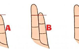 Ce spune lungimea degetului mic despre personalitatea ta