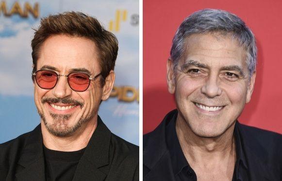 Robert Downey Jr. — George Clooney